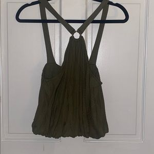 Free people green halter
